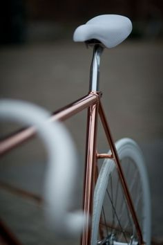 Copper, never be gold #fixedgear #copper #never #gold