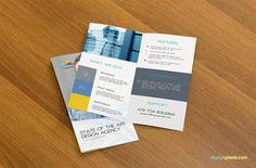 Free Bifold Brochure Mockup