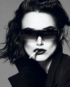 Keira Knightley by Mert & Marcus for Interview April 2012 #keira #interview #sunglasses #knightley #magazine