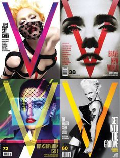V Magazine #editorial #magazine #covers