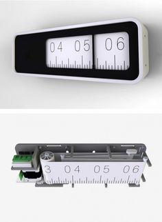 tumblr_m0gx7nDyK61qcg08no1_1280.png 658×899 pixels #clock #design #minimal #typography