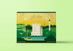 Butlers Chocolates #packaging #chocolate #travel #illustration #branding #design #packaging #chocolate #travel #illustration #branding #desi
