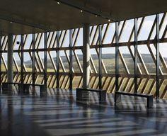 Dezeen » Blog Archive » Alésia Museum visitor's centreby Bernard Tschumi Architects #architecture