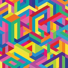 LIFE IN FILM FLYERS STUDIO MOROSS #pattern #flyer #geometric #grid #moross #kate