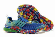 Nike Air Presto Trainers Camouflage Royal Green Mens #shoes