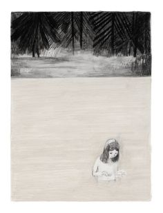 Jane, the Fox and Me: A Gorgeous Graphic Novel about the Travails of Youth Inspired by Charlotte Brönte | Brain Pickings #forest #mirror #illustration #water