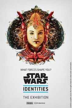 bleublancrouge-amidala.jpg (600×900) #design #wars #space #illustration #mosaic #star #poster