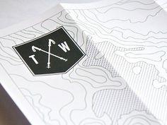 Dribbble - Experience Map (résumé) by Thomas Woodson