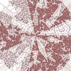 DanzerFrame-00049   Flickr - Photo Sharing! #abstract #generative #geometry #fredrik #danzer #tiling #vanhoutte #wblut