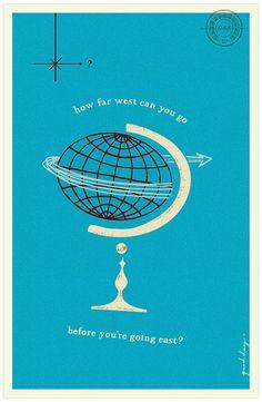 goodday no. 26-68 « good day ca #illustration #globe