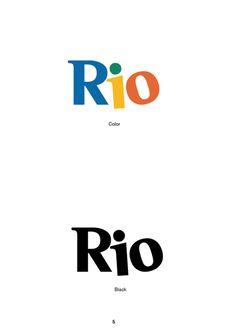 rio #branding #rio #design #graphic #logo #typography