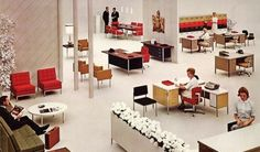 Vintage Interior #interior #furniture #steelcase #vintage