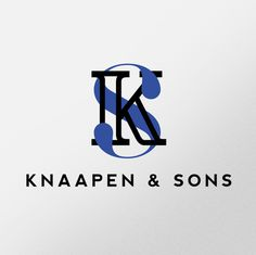 Knaapen & Sons by Resuk #logo #monogram