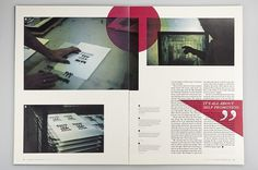 –Everyday Magazine : Mikael Fløysand #grid #layout #publication #spread #magazine