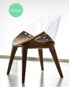 Wood and Acrylic Chair #furniture