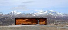 snøhetta: norwegian wild reindeer centre pavilion #wood #pavilion