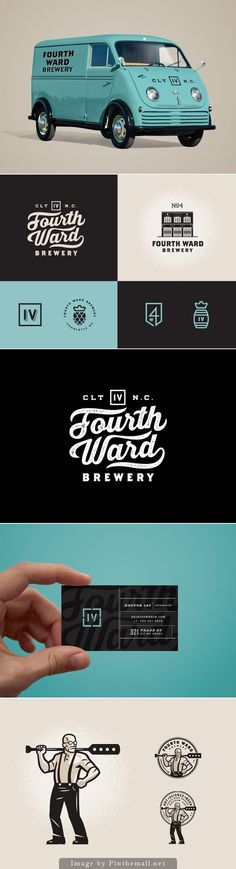 Forth Ward Brewery #lettering #script