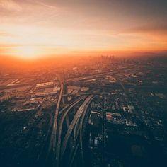 Dylan Schwartz Captures Stunning Sky-High Photos of Los Angeles