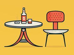Bar #illustration #char #bar