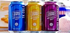 Thomas Kemper Naturally Diet Zero Calorie Soda | The World of Beverage Drink #pack