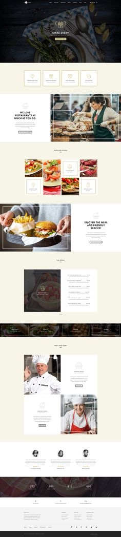 H-Code #Responsive & #Multipurpose #OnePage and #MultiPage #Template For #Restaurant by #ThemeZaa http://goo.gl/ygs4kX