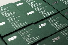 Maythorpe. » JCP Studios #stamp #business #card #print #silver #identity #foil