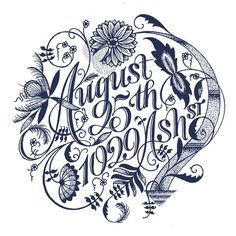 tumblr_m7lofnghSg1qfey4ao1_1280 #flourish #iso50 #navy #blue #decorative #typography