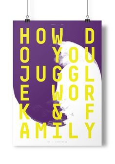 #challenge #poster #a2 #juggle #family #paint #typography #quote