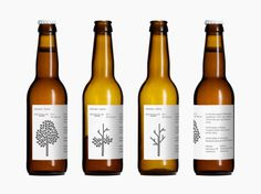 Mikkeller Wild Winter Ale #beer #tree #packaging #label #minimal #type