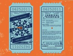 design a ticket #typography #awesome