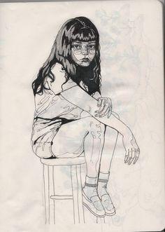 girl #illustration #girl