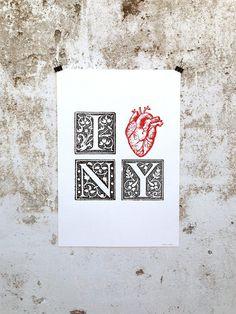 I ♥ NY Poster