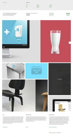 Hello Design on the Behance Network #grid #layout #web