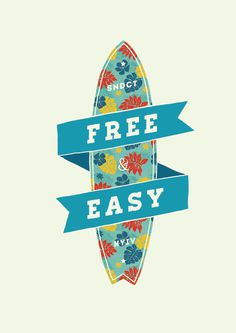 Free & Easy #sndct #surf #orka #illustration #kyiv #abo