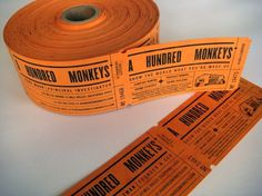 A Hundred Monkeys : mCroxton Design #card #business #ticket