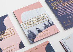 Ars Cameralis Festival Identity by Marta Gawin – Inspiration Grid | Design Inspiration