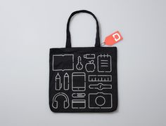 Manual  Home #bag #tote #hang tag