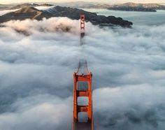 T H E D I G G E S T . C O M #fog #san #landscape #gate #golden #francisco #bridge