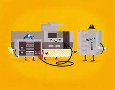 NES Family- Philip Tseng #philip #tseng #snes #character