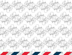Heloise Ralantoaritsimba #cursive #postcard #script #pattern