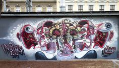 Nychos #graffiti #dissection #nychos