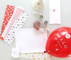 Hob Nob Stationery Package • Stitch Design Co.