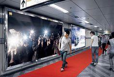 The Cool Hunter Nikon D700 Guerrilla Style Billboard #guerilla #nice #idea