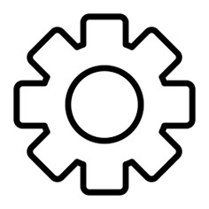 See more icon inspiration related to gear, cogwheel, construction and tools, edit tools, setting, settings, configuration and construction on Flaticon.