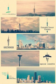 Landmark building logos from around the world | CreativeRoots - Art and design inspiration from around the world #icons