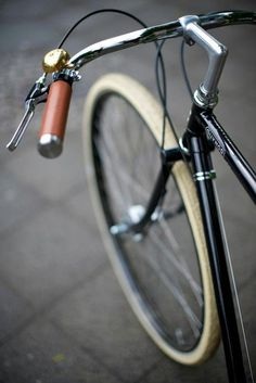Tires #bicycle #handle #bars #leather #bike