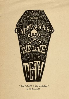 tumblr_l7kztkAnCH1qbqxup.jpg 485×700 pixels #death #coffin