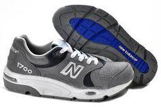 Mens new balance CM1700GA classic Grey White Blue Shoes #fashion