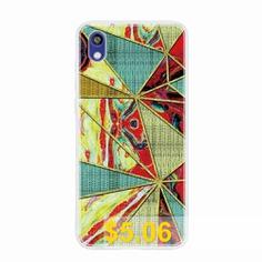 TPU #Geometric #Marble #Painted #Phone #Case #for #Huawei #Honor #8S #/ #Y5 #2019 #- #MULTI-K