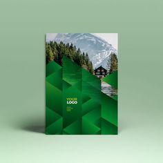 Green Ecologic Stationery #stationery #branding #green #pattern #template #inspiration #design #graphcidesign